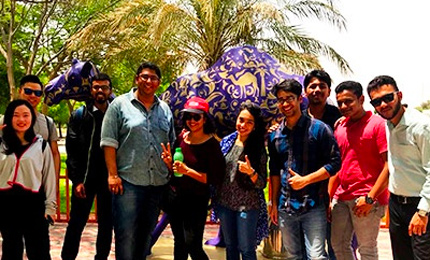 Postgraduate Students visit Camelicious in UAE