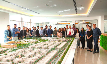 MGB students visit The Sustainable City in Dubai