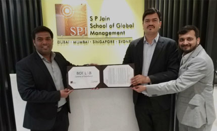SP Jain inaugurates a Bot Lab in association with Automation Anywhere at Mumbai campus