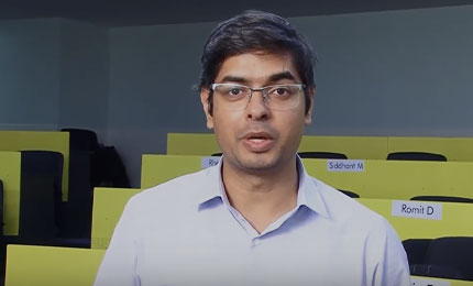Student Experience: Harsh Tiwari