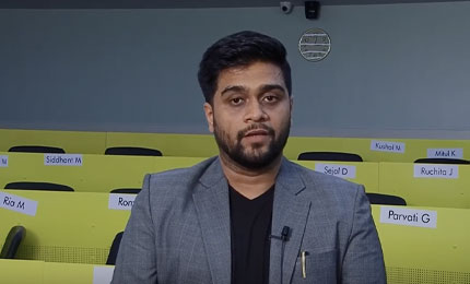 Student Experience: Vinayak Mane