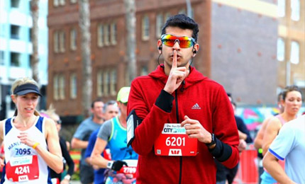 How running helped Abhay Teotia (MGB'19) take on the challenges of an MBA