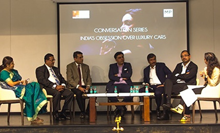 Luxury Management students launch the Conversation Series at the Mumbai Campus