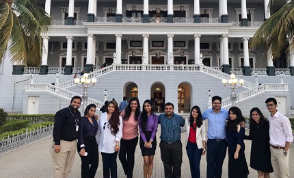MGLuxM Students visit Taj Falaknuma Palace
