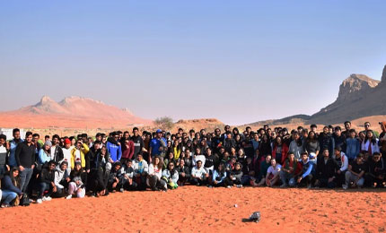 A year to remember in Dubai – Raghav Bansal (BEC'18)