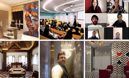 Interning with one of India's top interior designers