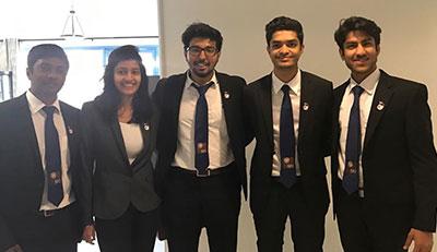 Jaguars titled MENA CFA Research Challenge Winners, 2017