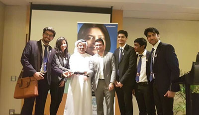 Jaguars titled MENA CFA Research Challenge Winners, 2017