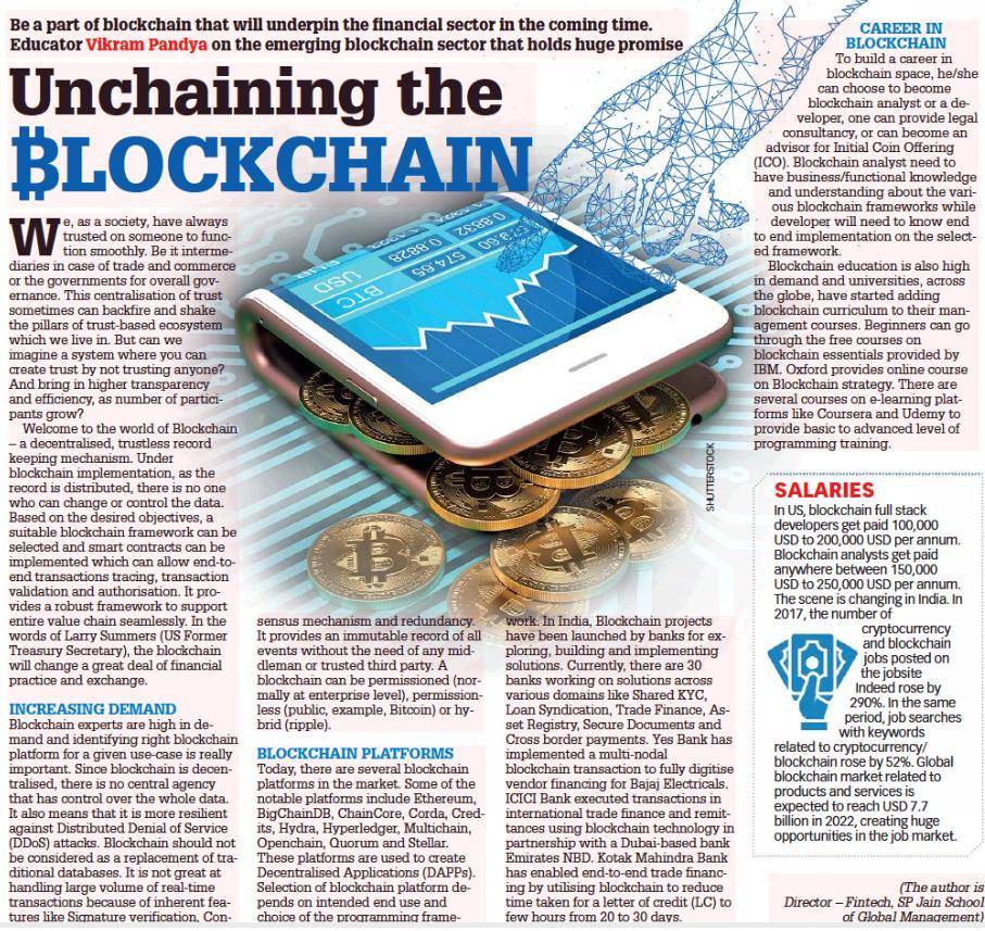 Unchaining the Blockchain