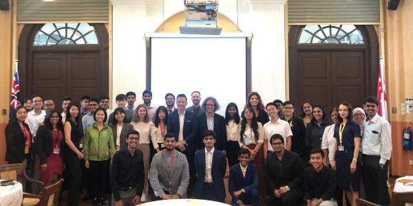 SP Jain welcomed 26 BBA students from 7 nationalities at the Undergraduate Orientation at Singapore campus