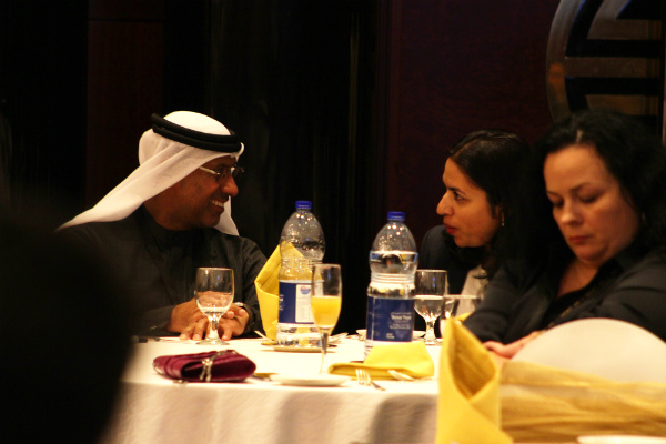 Our students got the opportunity to network with industry experts at the Corporate Partners Meet