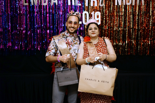 Mr. Ricardo Communod (EMBA Batch 14) and Ms. Anisya Uberoi (EMBA Batch 10) won the Style Icon awards