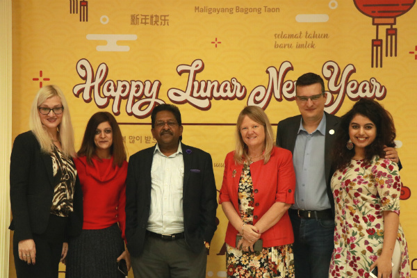 SP Jain students and faculty celebrate Lunar New Year