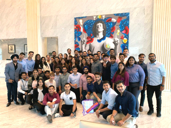 SP Jain's MGB Sep'18 cohort specialising in Marketing visited PepsiCo in Dubai to gain hands-on experience of how industry operations are executed