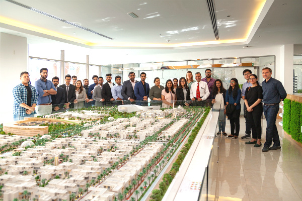 SP Jain School of Global Management's MGB students visit The Sustainable City in Dubai